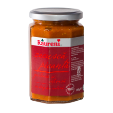 Raureni - Zacusca Hot Vegetable Mixture / Zacusca Iute 300g