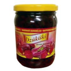 Rivona - Dzukiski Pickled Beetroots 500g