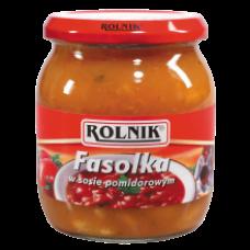 Rolnik - Beans in Tomato Sauce 510g