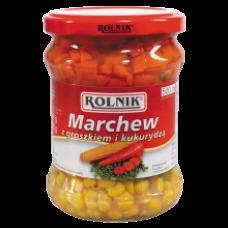 Rolnik - Carrots Peas and Sweetcorn 500ml