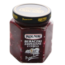Rolnik - Fried Beetroots with Onions 580ml