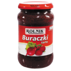 Rolnik - Grated Beetroots 370ml