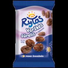 Rytas - Curd Cheese Bar with Raisins 100g