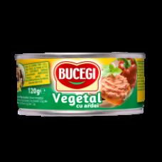 Scandia - Bucegi Vegetarian Pate with Peppers / Pasta Vegetala Tartinabila cu Ardei 120g EO