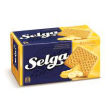Selga - Banana Flavour Biscuits 180g