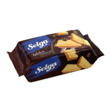 Selga - Chocolate Flavour Wafers 90g