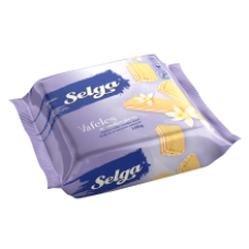 Selga - Vanilla Flavour Wafers 180g