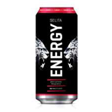 Selita - Energy Drink Can 500ml
