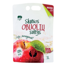 Skanios Sultys - 100% Sweet Apple Juice 3L