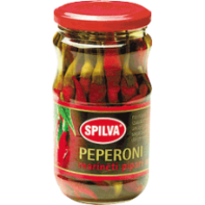 Spilva - Peperoni Hot Peppers 330g