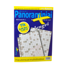 Super Panoraminiai Plius - Lithuanian Crosswords