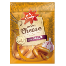 Svalia - Classic Cheese Snack with Garlic 75g
