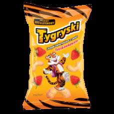 TBM - Tygryski Strawberry Flavour Corn Sticks 70g
