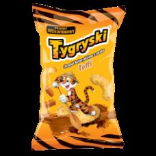 TBM - Tygryski Toffee Flavour Corn Sticks 70g