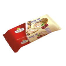 Tago - Swiss Roll with Cherry Filling 200g