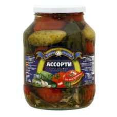 Teshchiny Recepty - Assorti Tomatoes and Cucumbers 1.7L