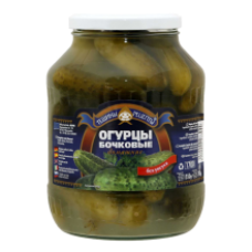 Teshchiny Recepty - Domaschnije Sour Cucumbers 1.7L