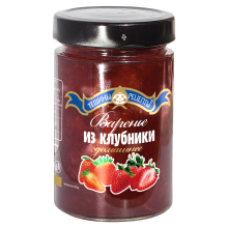 Teshchiny Recepty - Strawberry Jam 340g