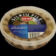 Dese - Uzkandine Herring Pieces 200g