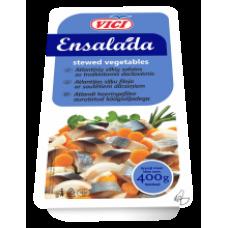 Vici - Ensalada Herring Fillet Pieces with Stewed Vegetables 400g