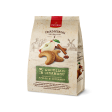 Viktorija ir Partneriai - Biscuits with Dried Apples and Cinnamon 250g