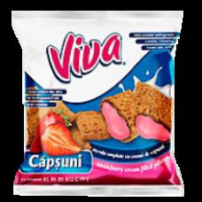 Viva - Strawberry Pillows / Viva Pernite Capsuni 200g