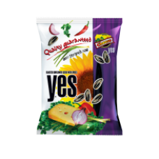 Y.E.S. - Roasted Striped Sunflower Seeds with Cheese Flavour Spices 150g