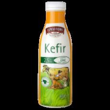 Zemaitijos - Kefyr 2.5% Fat in a Bottle 450g