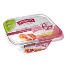 Zemaitijos - Melted Cheese with Ham 175g